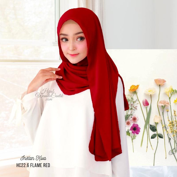 Instan Kiva - HC22.6 Flame Red