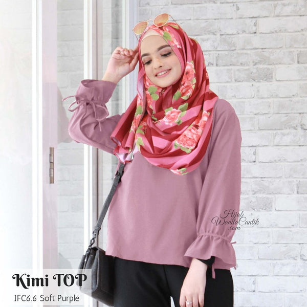Kimi Top - IFC6.6 Soft Purple