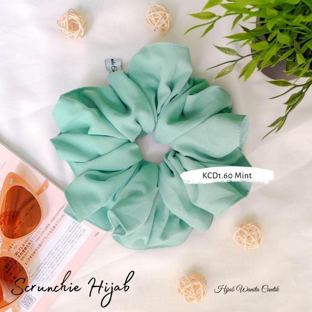 Hijab Diamond  Ikat Rambut Anti Pusing KCD1.60 Mint