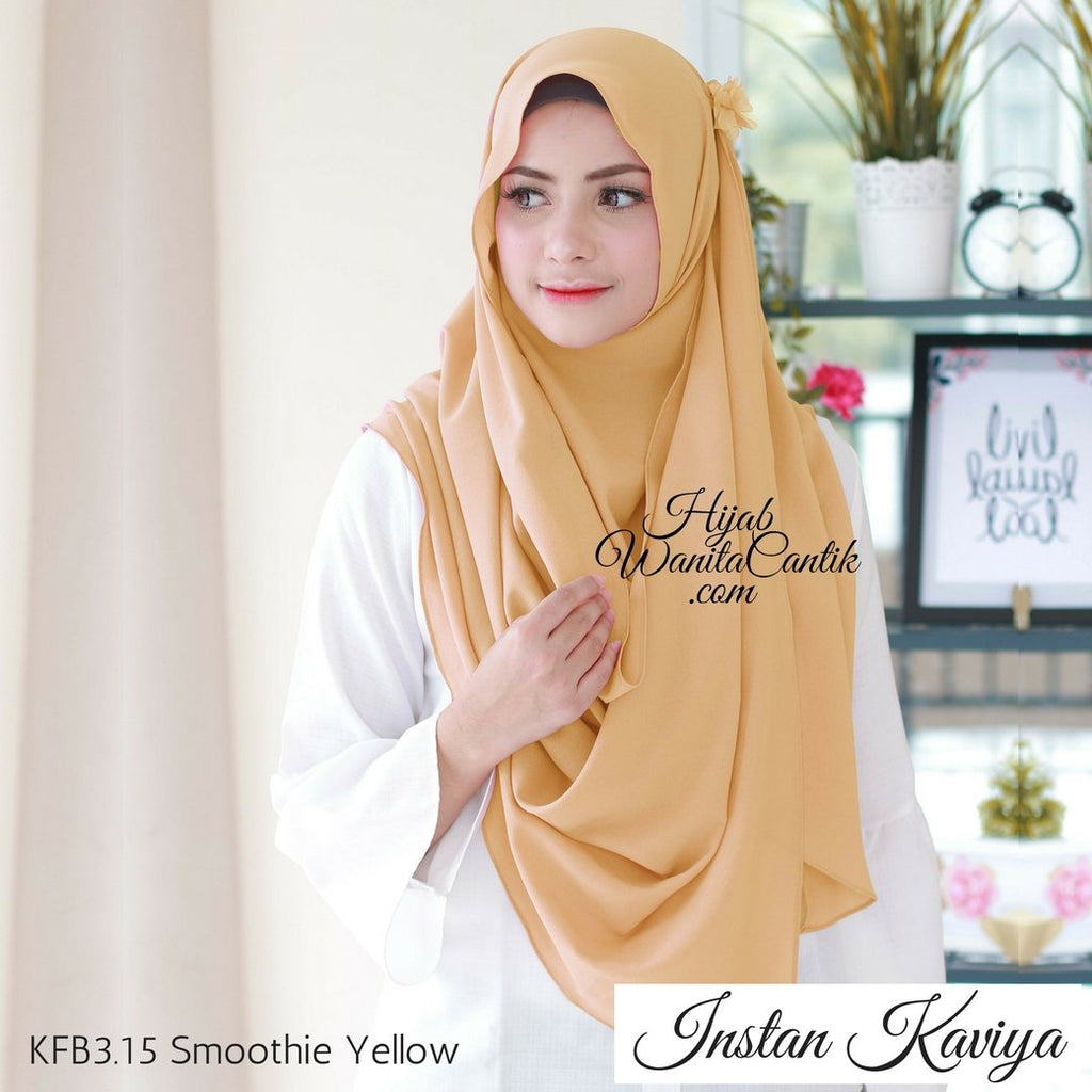 Instan Kaviya - KFB3.15 Smoothie Yellow