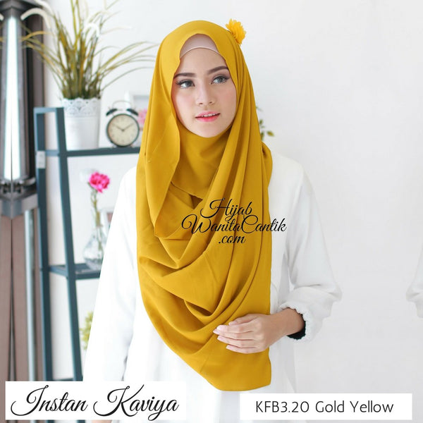 Instan Kaviya - KFB3.20 Gold Yellow