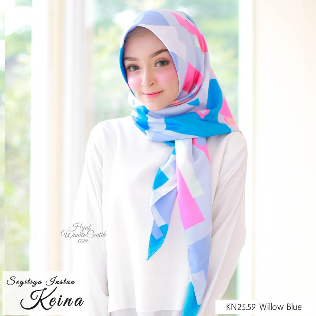 Segitiga Instan KEINA - KN25.59 Willow Blue