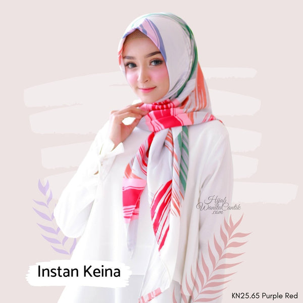 Segitiga Instan KEINA - KN25.65 Purple Red