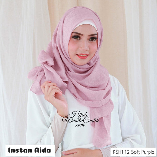 Instan Aida  - KSH1.12 Soft Purple
