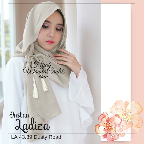 Pashmina Instan Ladiza - LA43.39 Dusty Road