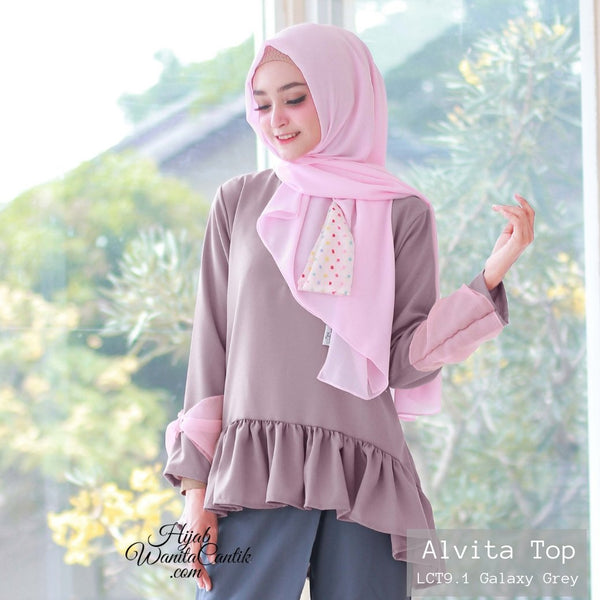 Alvita Top - LCT9.1 Galaxy Grey