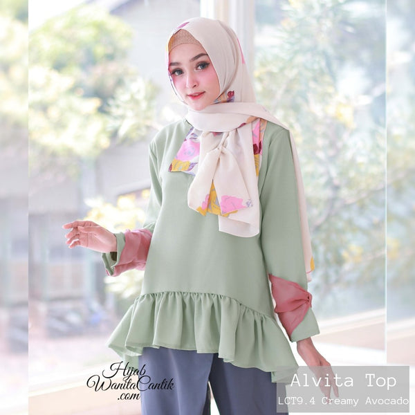 Alvita Top - LCT9.4 Creamy Avocado