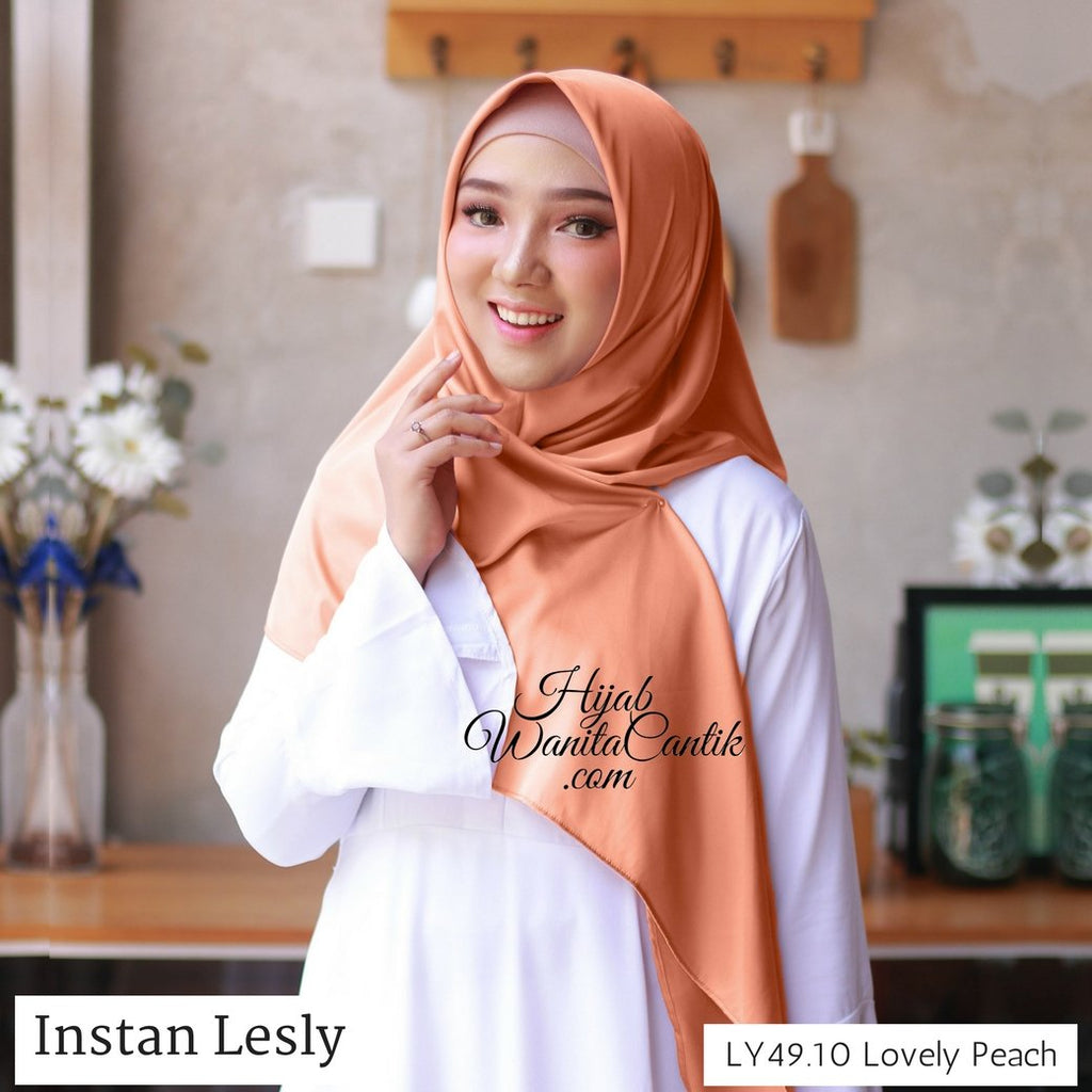 Segitiga Instan Lesly - LY49.10 Lovely Peach