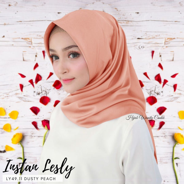 Segitiga Instan Lesly - LY49.11 Dusty Peach
