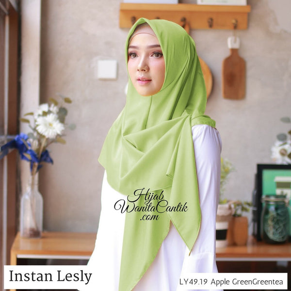 Segitiga Instan Lesly - LY49.19 Apple Green