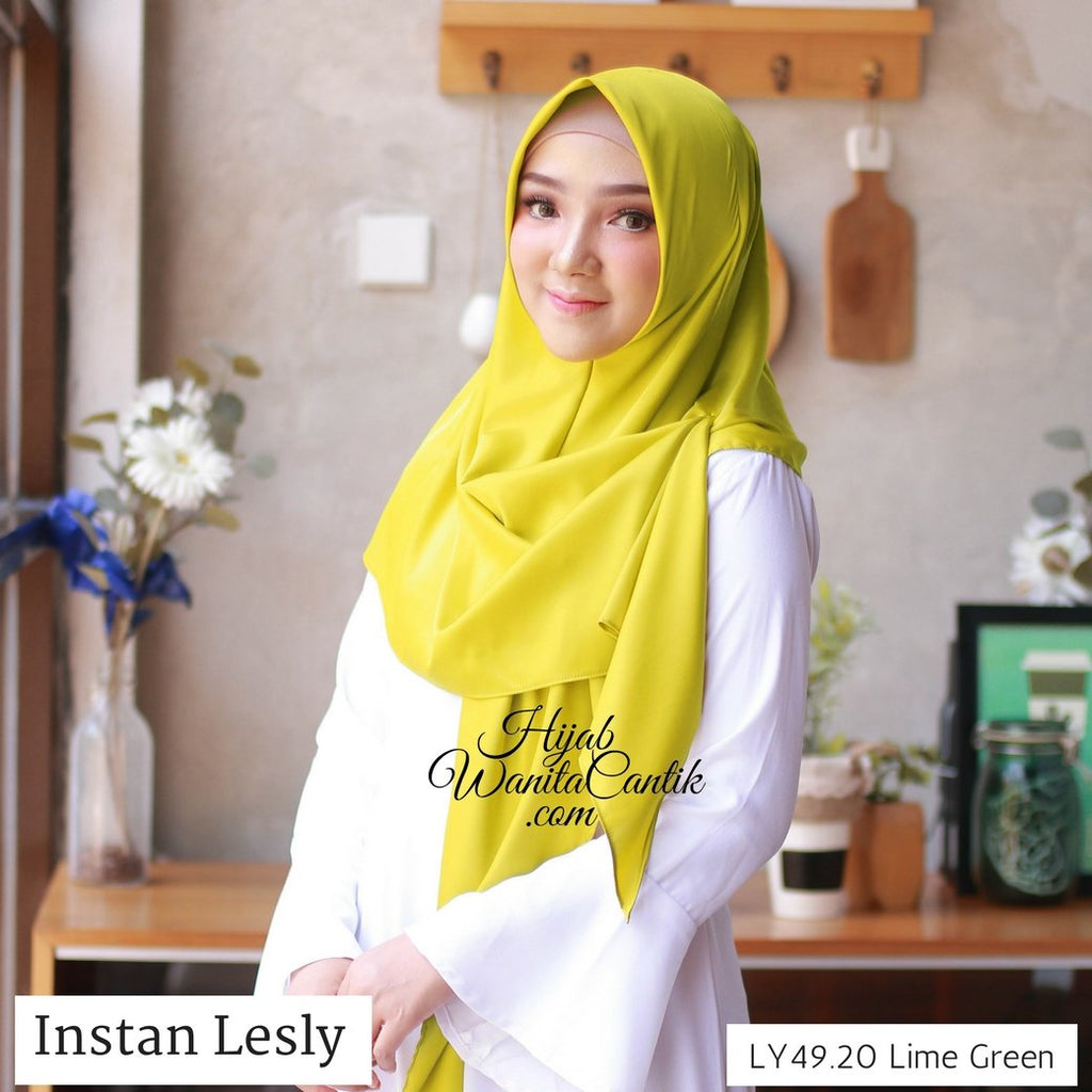 Segitiga Instan Lesly - LY49.20 Lime Green