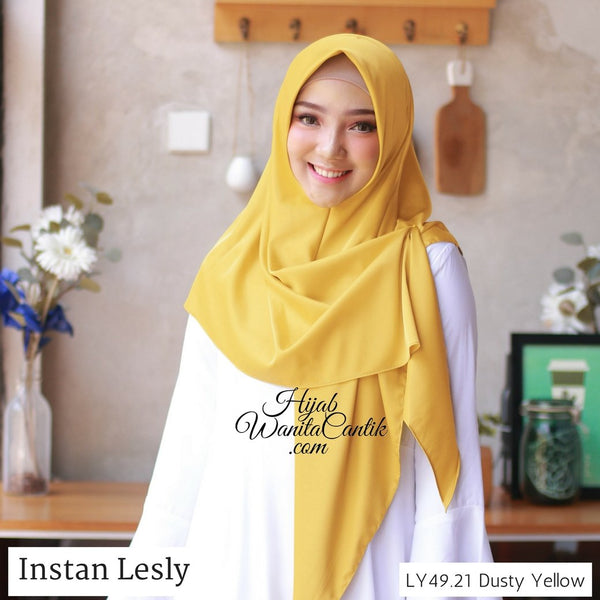 Segitiga Instan Lesly - LY49.21 Dusty Yellow