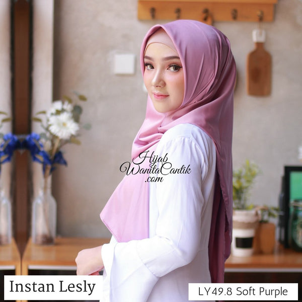 Segitiga Instan Lesly - LY49.8 Soft Purple