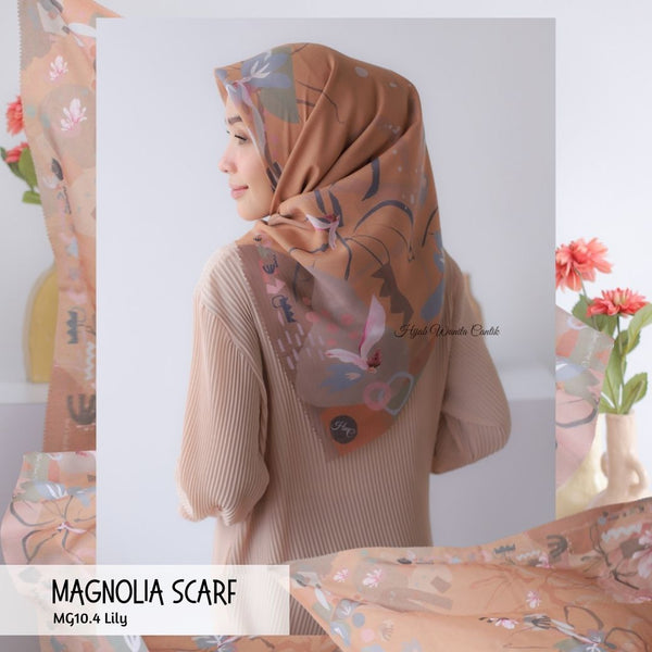 Magnolia Scarf ICY Voal - MG10.4 Lily