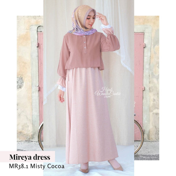 Mireya Dress - MR38.1 Misty Cocoa