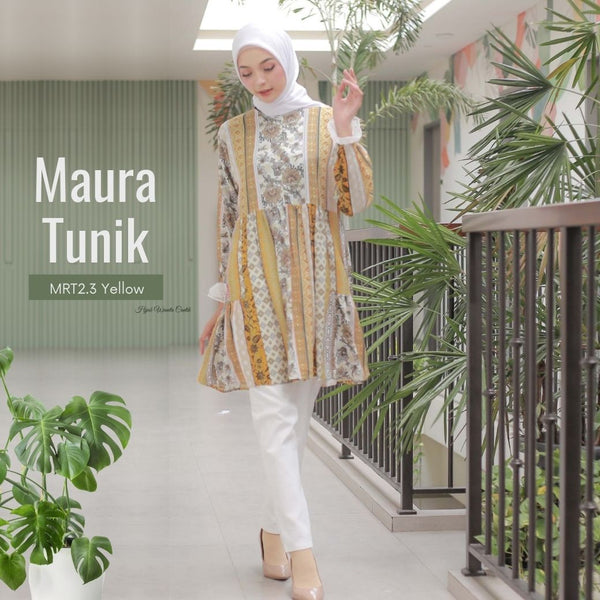 Maura Tunik - MRT2.3 Yellow