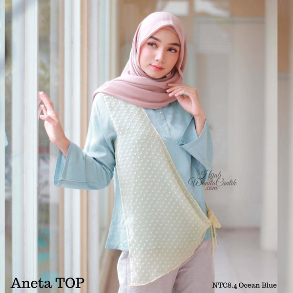 Aneta TOP  - NCT8.4 Ocean Blue