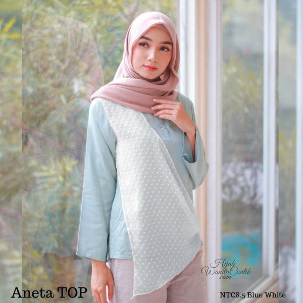 Aneta TOP  - NCT8.5 Blue White