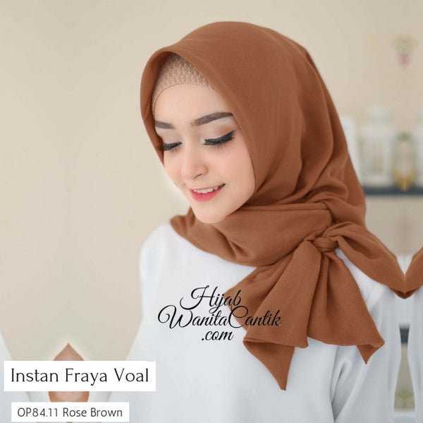 Instan Fraya Voal  - OP84.11 Rose Brown