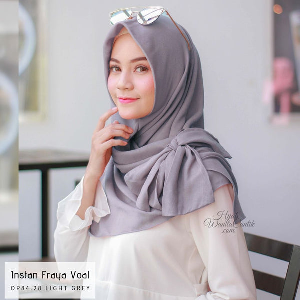 Instan Fraya Voal  - OP84.28 Light Grey