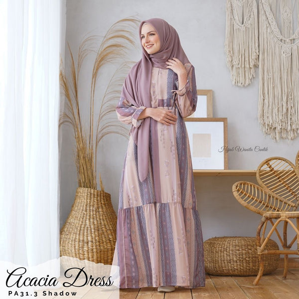 Acacia Dress - PA31.3 Shadow