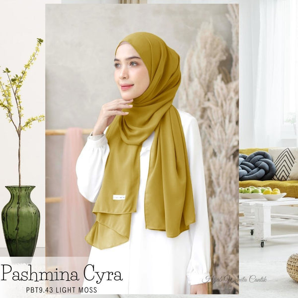 Pashmina Cyra - PBT9.43 Light Moss