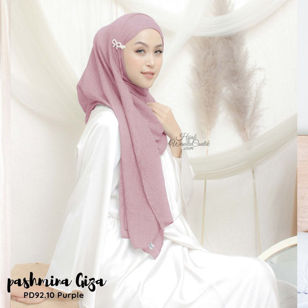 Pashmina Giza - PD92.10 Purple