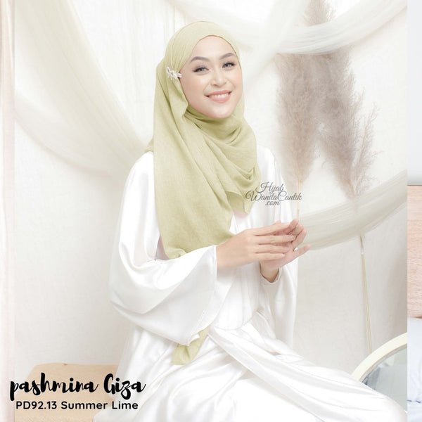 Pashmina Giza - PD92.13 Summer Lime