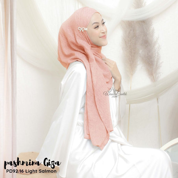 Pashmina Giza - PD92.16 Light Salmon