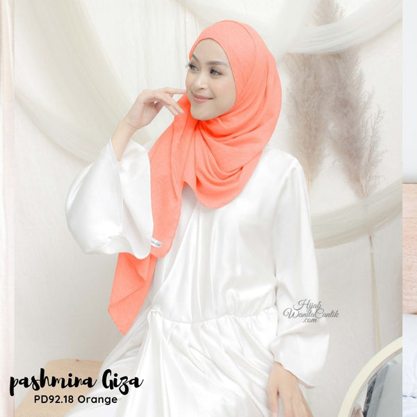 Pashmina Giza - PD92.18 Orange