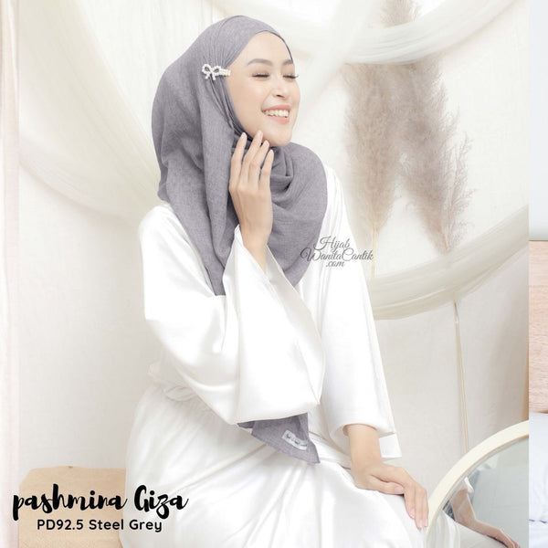Pashmina Giza - PD92.5 Steel Grey