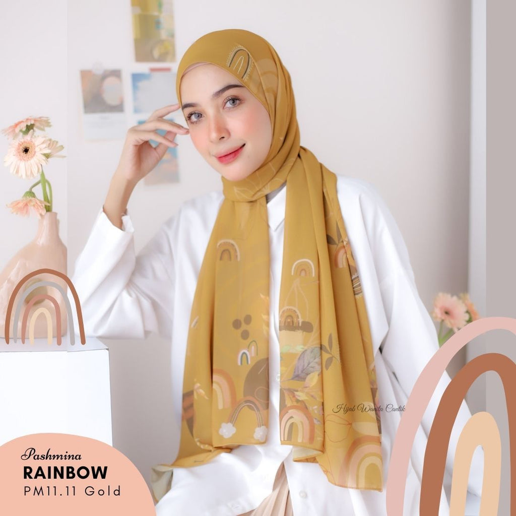 Pashmina Rainbow - PM11.11 Gold