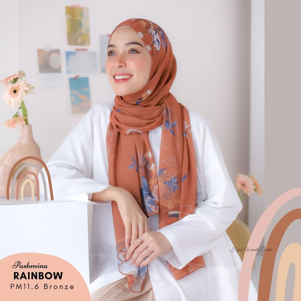 Pashmina Rainbow - PM11.6 Bronze