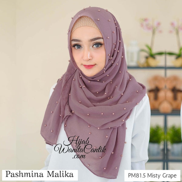 Pashmina Malika  - PM81.5 Misty Grape
