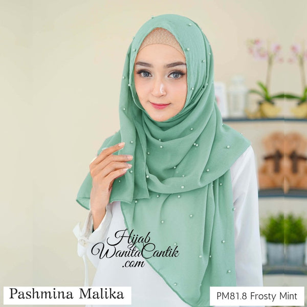 Pashmina Malika  - PM81.8 Frosty Mint