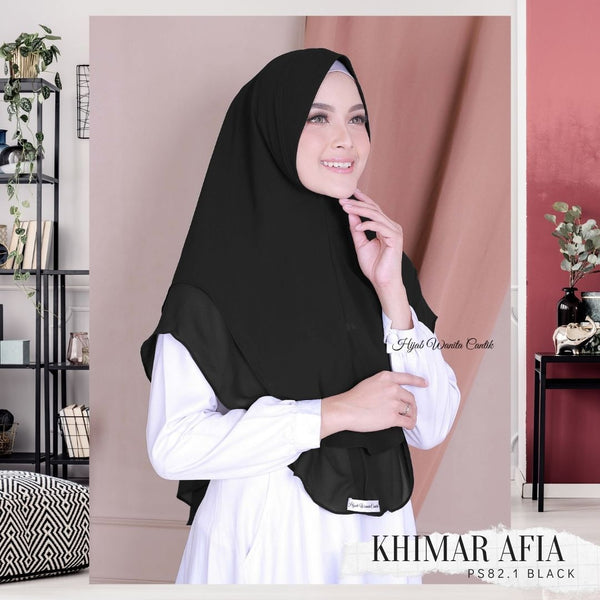 Khimar Afia - PS82.1 Black