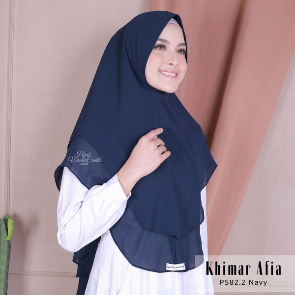 Khimar Afia - PS82.2 Navy