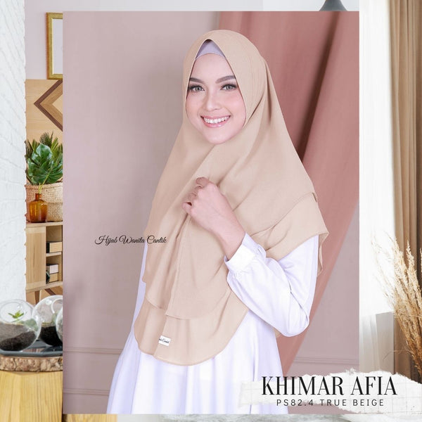 Khimar Afia - PS82.4 True Beige