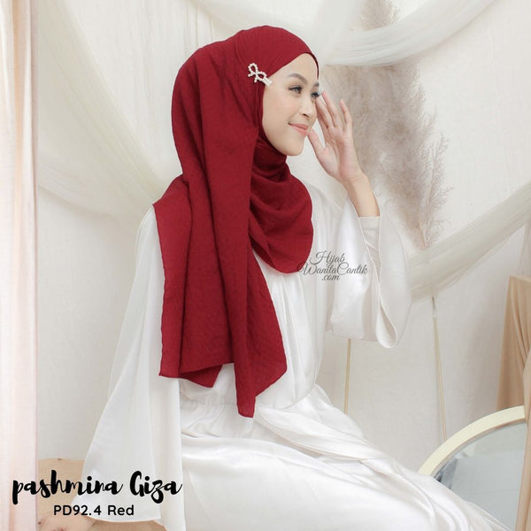 Pashmina Giza - PD92.4 Red