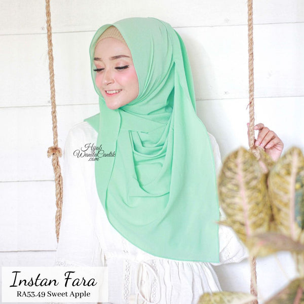 Pashmina Instan Fara - RA53.49 Sweet Apple