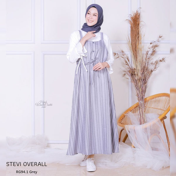 Stevi Overall - RG94.1 Grey