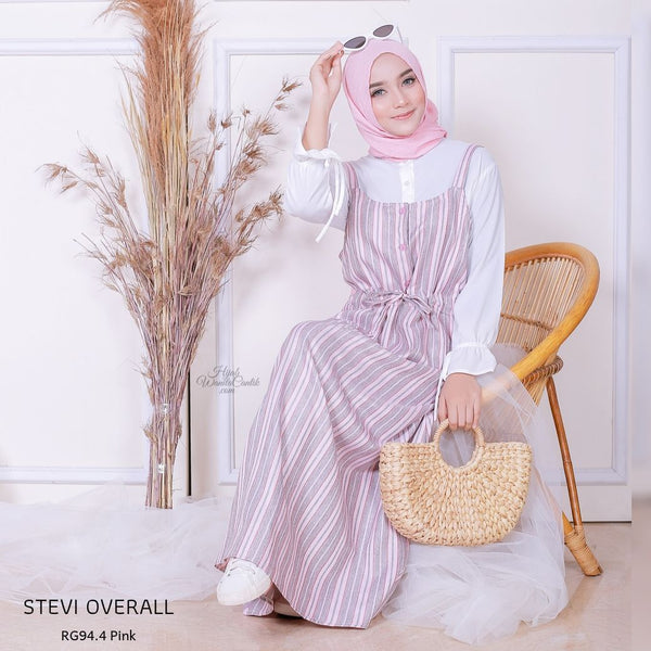 Stevi Overall - RG94.4 Pink