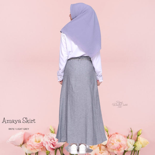 Amaya Skirt - RKF9.1 Light Grey
