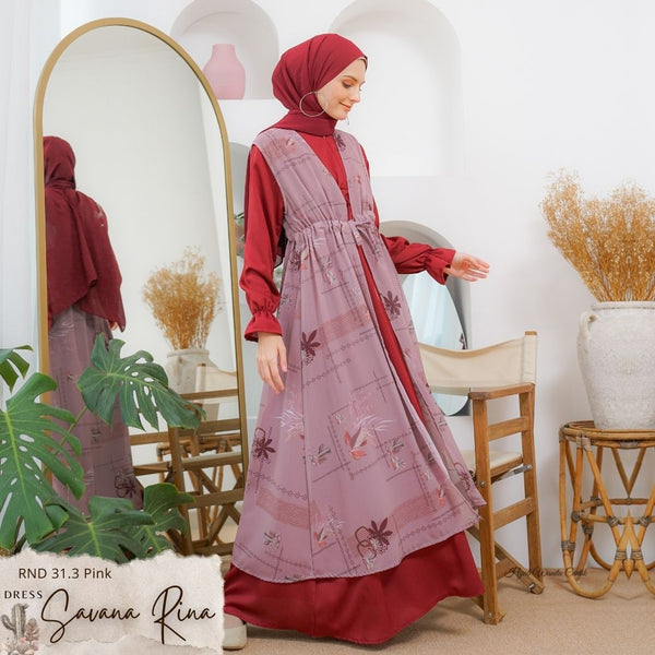 Savana Rina Dress - RND 31.3 Pink