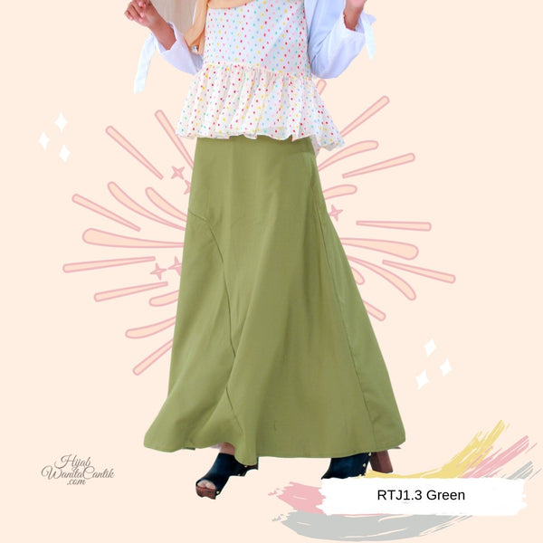 Amaya Skirt  - RTJ1.3 Green