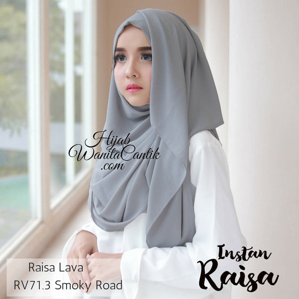 Pashmina Instan Raisa Lava - RV71.3 Smoky Road