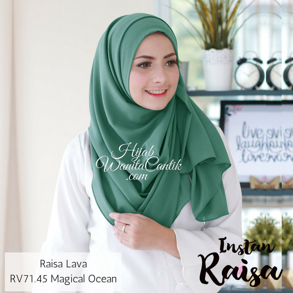 Pashmina Instan Raisa Lava - RV71.45 Magical Ocean