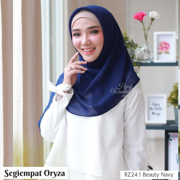 Segiempat Oryza  - RZ24.1 Beauty Navy