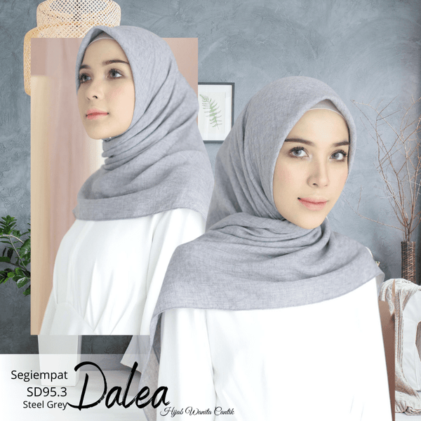 Segiempat Dalea - SD95.3 Steel Grey