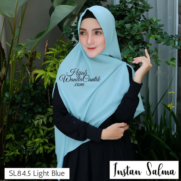 Khimar Instan Salma - SL84.5 Light Blue